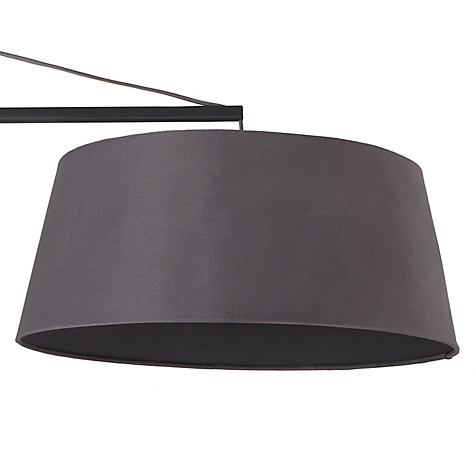 Buy John Lewis Grayson Reach Floor Lamp Grey John Lewis