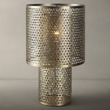 Buy John Lewis Marisa Shaded Cutwork Table Lamp Online at johnlewis.com