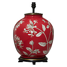 Buy Jenny Worrall Honeysuckle Lamp Base Online at johnlewis.com