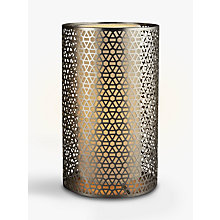 Buy John Lewis Meena Cutwork Lamp with Diffuser Online at johnlewis.com
