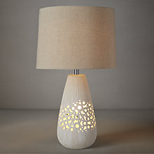 Buy John Lewis Melissa Dual Lit Ceramic Table Lamp Online at johnlewis.com