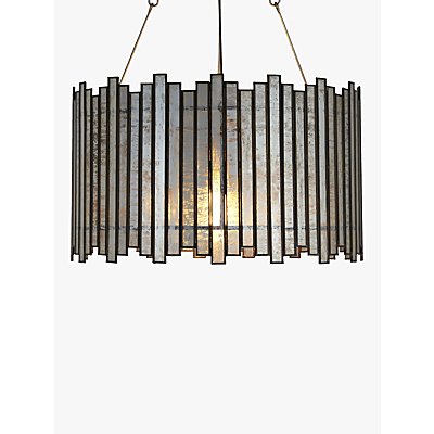 John Lewis Pandora Glass Strips Pendant Light