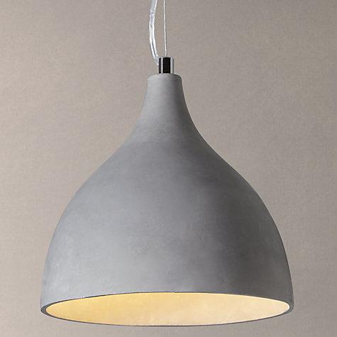 Buy John Lewis Parry Concrete Pendant Light