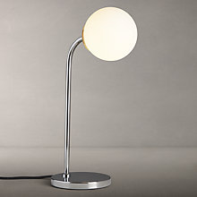 Buy John Lewis Odyssey Touch Lamp, Chrome Online at johnlewis.com