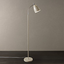 Buy John Lewis Neil Floor Lamp, Taupe Online at johnlewis.com