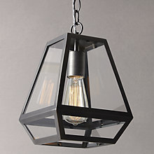 Buy John Lewis Oxford Antique Nickel Lantern Online at johnlewis.com