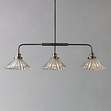 Buy John Lewis Phineas 3 Bar Pendant Light Online at johnlewis.com