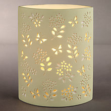 Buy John Lewis Shannon Table Lamp, Fennel Online at johnlewis.com