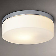 Buy Astro Sabina Round Flush Bathroom Ceiling Light Online at johnlewis.com