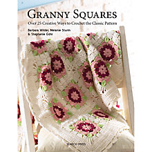 Buy Granny Squares Crochet Guide Book Online at johnlewis.com