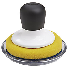 Buy Oxo Good Grips Non Scratch Scrubber with Holder Online at johnlewis.com