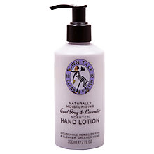 Buy Town Talk Lavender Hand Lotion, 200ml Online at johnlewis.com
