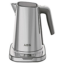 Buy AEG EWA7800 Kettle & AT7800 2-Slice Toaster, Stainless Steel Online at johnlewis.com