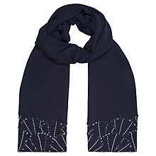 Buy Jacques Vert Embellished Shawl, Monique Online at johnlewis.com