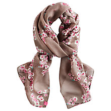 Buy Joules Julianne Praline Blossom Scarf Online at johnlewis.com