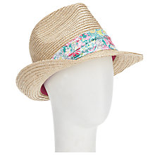 Buy Joules Austwick Trilby, Natural Online at johnlewis.com