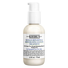 Buy Kiehl's Damage Repairing & Rehydrating Leave-In Treatment, 75ml Online at johnlewis.com