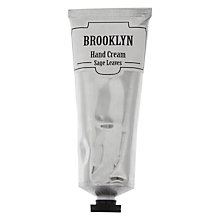 Buy Brooklyn Sage Leaf Hand Cream, 75ml Online at johnlewis.com