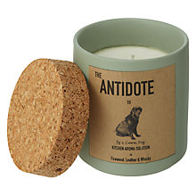Buy John Lewis Antidote Perfumed Candle, Dog Online at johnlewis.com