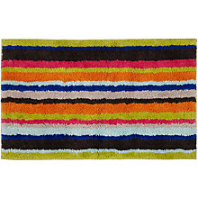 Buy John Lewis Reversible Stripe Bath Mat Online at johnlewis.com