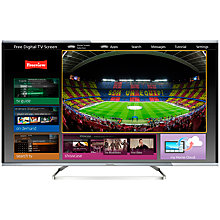 "Buy Panasonic 55AX630B LED 4K Ultra HD 3D Smart TV, 55"" with Voice Control, Freeview HD & freetime Online at johnlewis.com"