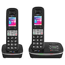 Buy BT 8500 Digital Telephone and Answering Machine with Advanced Call Blocker, Twin DECT Online at johnlewis.com