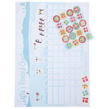 Buy John Lewis Children's Christmas Gift Reward Chart Online at johnlewis.com