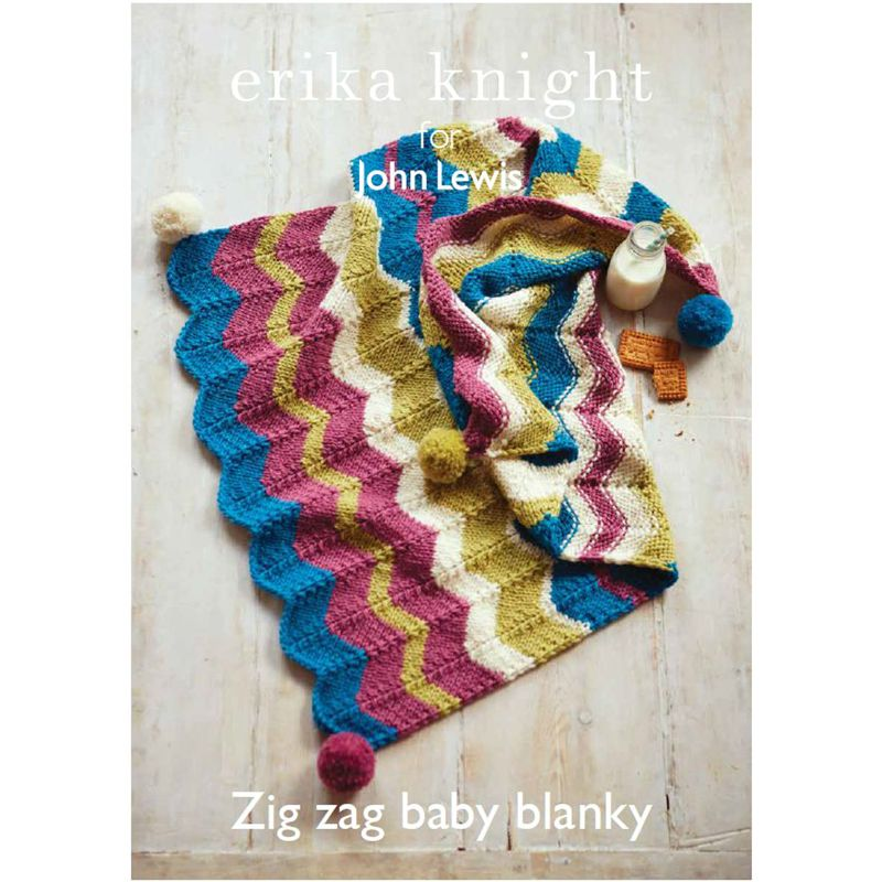 Knitting Pattern John Lewis : Buy Erika Knight for John Lewis Baby Pram Blanket Knitting Pattern John Lewis