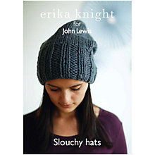 Buy Erika Knight for John Lewis Adult Slouchy Hat Knitting Pattern Online at johnlewis.com