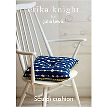 Buy Erika Knight for John Lewis Cushion Knitting Pattern Online at johnlewis.com