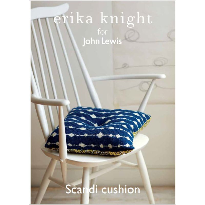 Knitting Pattern John Lewis : Buy Erika Knight for John Lewis Cushion Knitting Pattern John Lewis