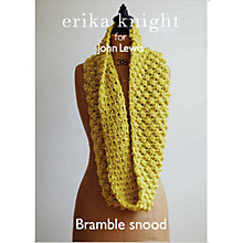Buy Erika Knight for John Lewis Adult Snood Knitting Pattern Online at johnlewis.com