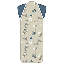 Buy Philips GC020/05 Easy8 Cotton Ironing Board Cover with Padded Shoulder Wings Online at johnlewis.com