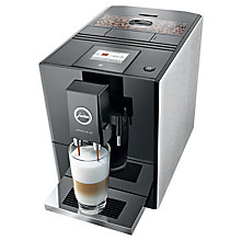 Buy Jura Impressa A9 Bean-to-Cup Coffee Machine, Aluminium Online at johnlewis.com