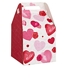 Buy John Lewis Rose and Heart Valentine's Pop Up Small Gift Box Online at johnlewis.com