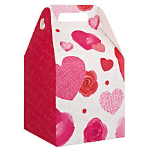 Buy John Lewis Rose and Heart Valentine's Pop Up Medium Gift Box Online at johnlewis.com