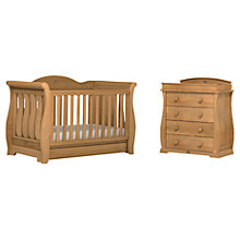 Buy Boori Sleigh Royale Cotbed and Dresser, Teak Online at johnlewis.com