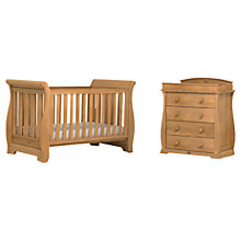 Buy Boori Sleigh Cotbed and Dresser, Teak Online at johnlewis.com
