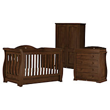 Buy Boori Sleigh Royale Cotbed, Dresser and Wardrobe Set Online at johnlewis.com