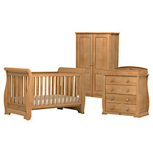 Buy Boori Sleigh Cotbed, Dresser and Wardrobe Set, Teak Online at johnlewis.com