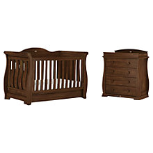 Buy Boori Sleigh Royale Cotbed and Dresser, Oak Online at johnlewis.com