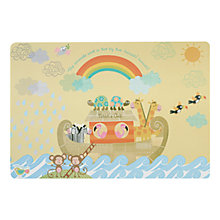 Buy Little Rhymes Noah's Ark Placemat Online at johnlewis.com