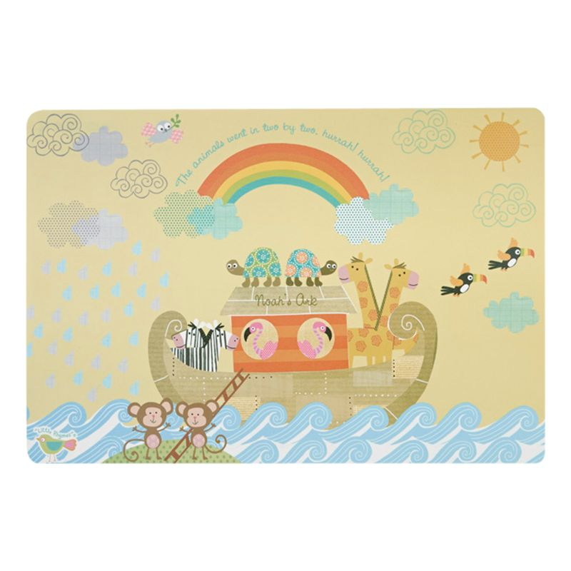 Little Rhymes Little Rhymes Noah's Ark Placemat