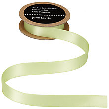 Buy John Lewis Satin Ribbon, 15mm Online at johnlewis.com