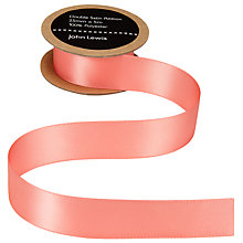 Buy John Lewis Satin Ribbon, 25mm Online at johnlewis.com