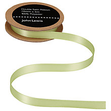 Buy John Lewis Satin Ribbon, 10mm Online at johnlewis.com