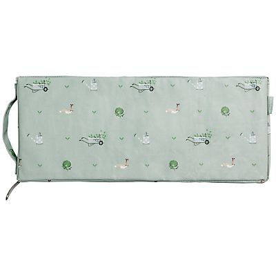 Sophie Allport Green Fingers Kneeler, Green/White