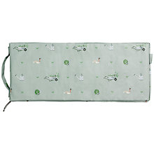 Buy Sophie Allport Green Fingers Kneeler, Green/White Online at johnlewis.com