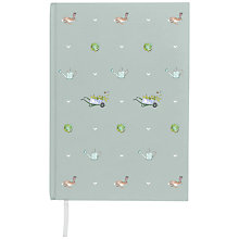 Buy Sophie Allport Gardening Print Notebook, A5 Online at johnlewis.com