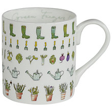 Buy Sophie Allport Green Fingers Bone China Mug Online at johnlewis.com